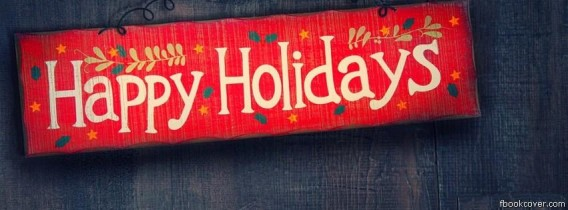 Happy Holidays Facebook Timeline Covers - The Wondrous Pics