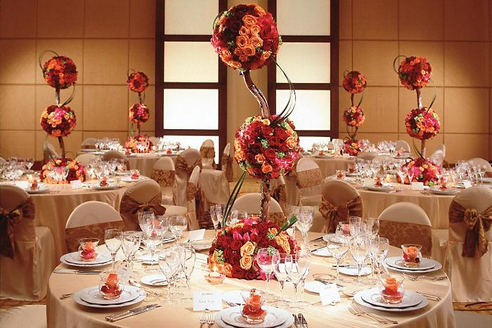 Wedding venue decoration ideas romantic decoration for Wedding venue decoration ideas pictures