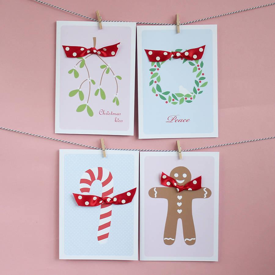 Simple Handmade Christmas Cards Handmade christmas cards