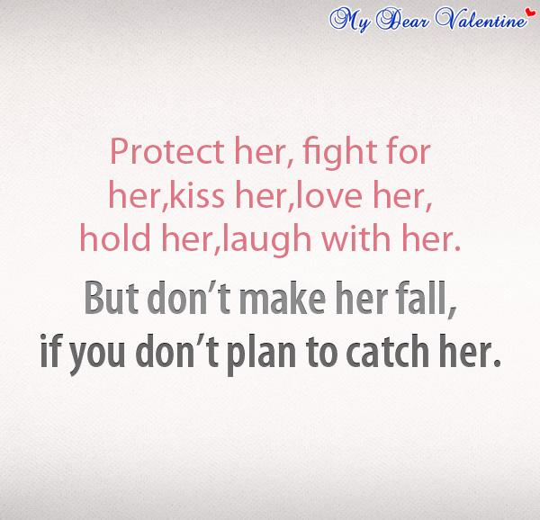love quotes for her protect her fight for her 8142 the