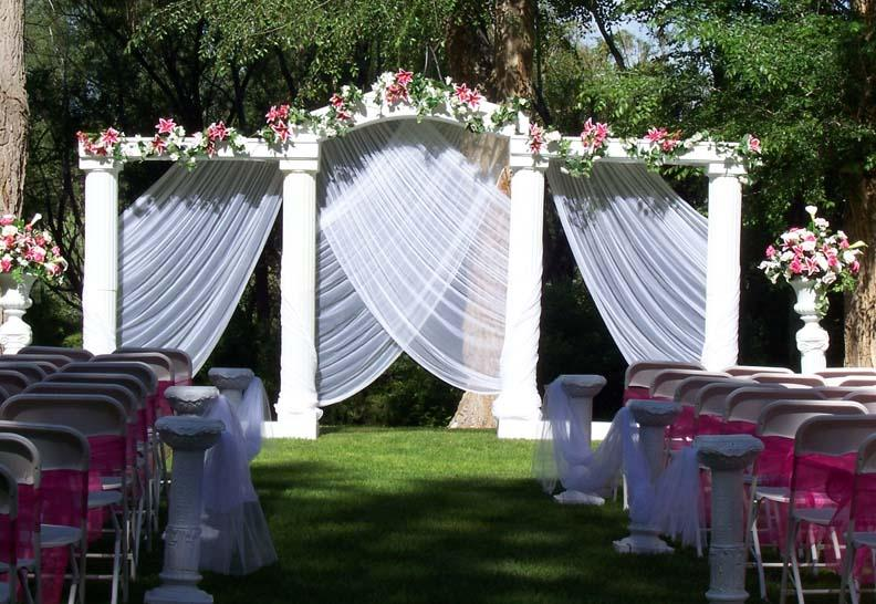 Outdoor Wedding Decoration Ideas 10 8025 The