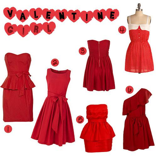 Valentine's Day Dresses 2013
