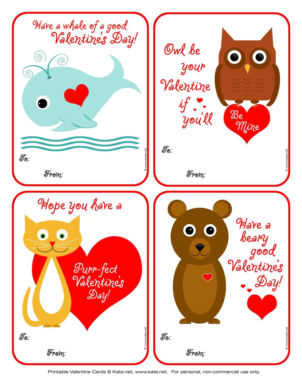 Free Printable Valentine S Quote: Valentines-day-card (5)