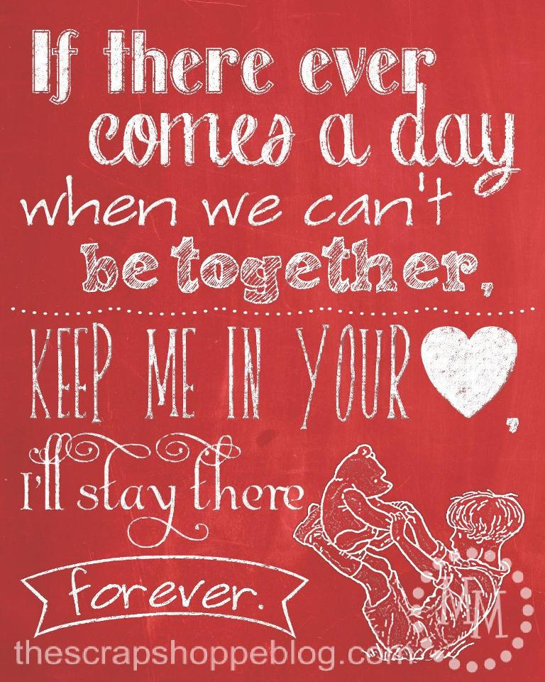 Free Printable Valentine S Quote: Blueshiftfiles: Photo Valentine Cards