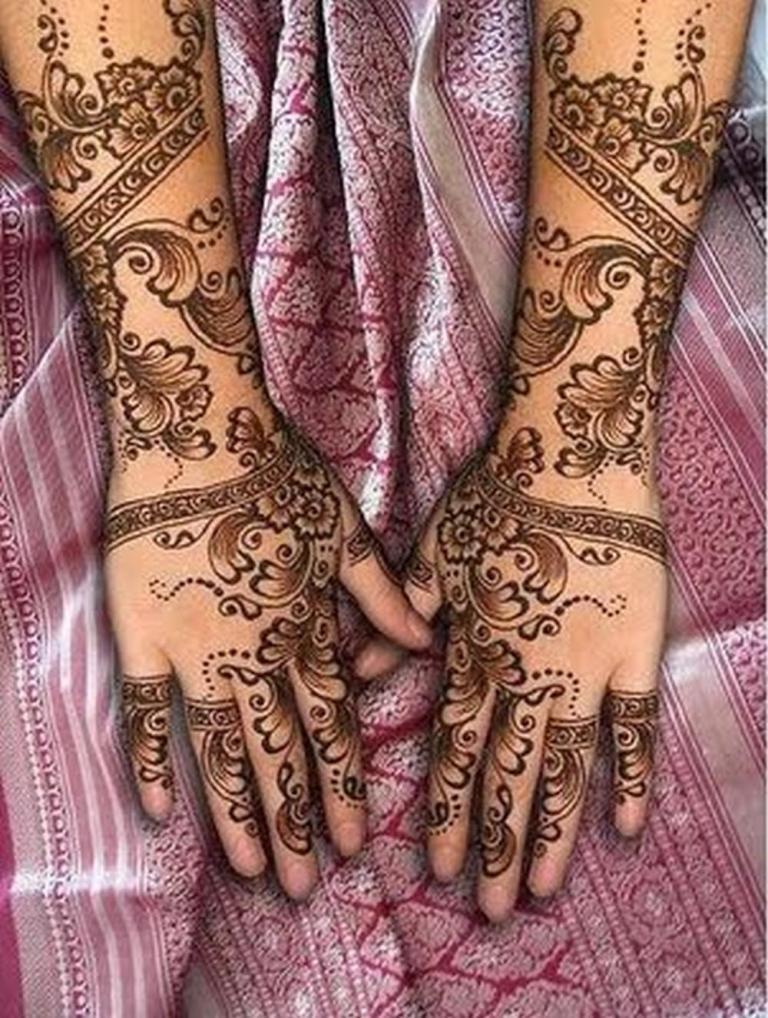 Mehndi Mehndi Designs : Bridal mehndi images designs for feet henna