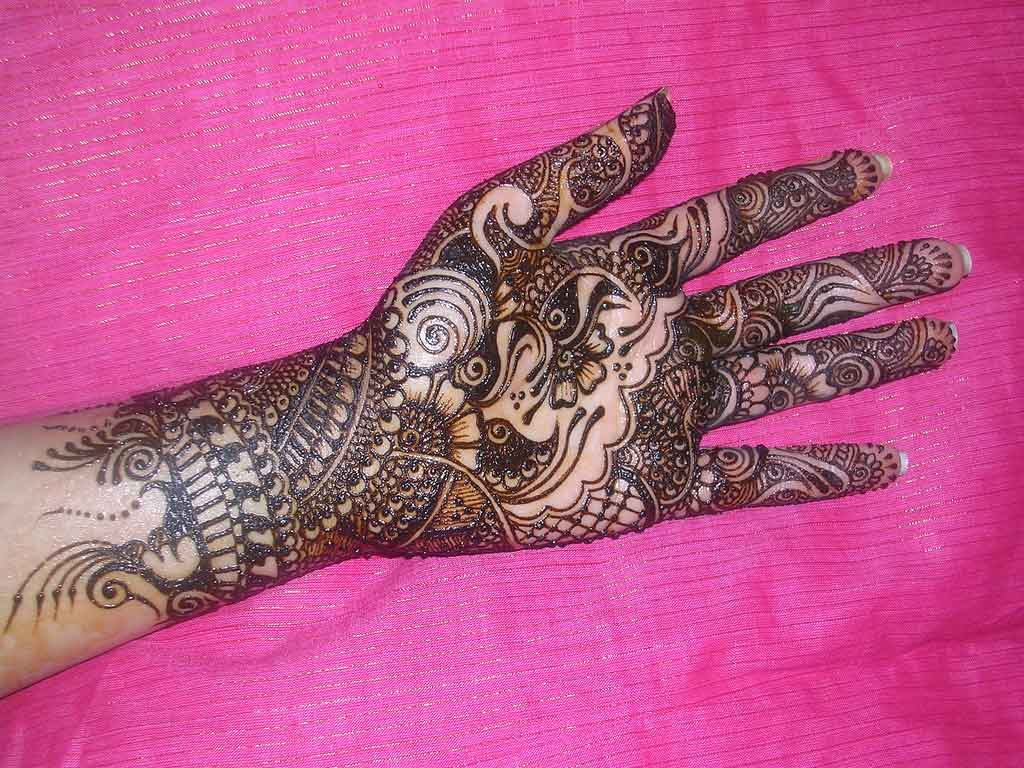 Henna Designs For Hands – Arabic Art