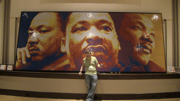 Martin Luther King's Portrait – Dream Big by Pete Fecteau