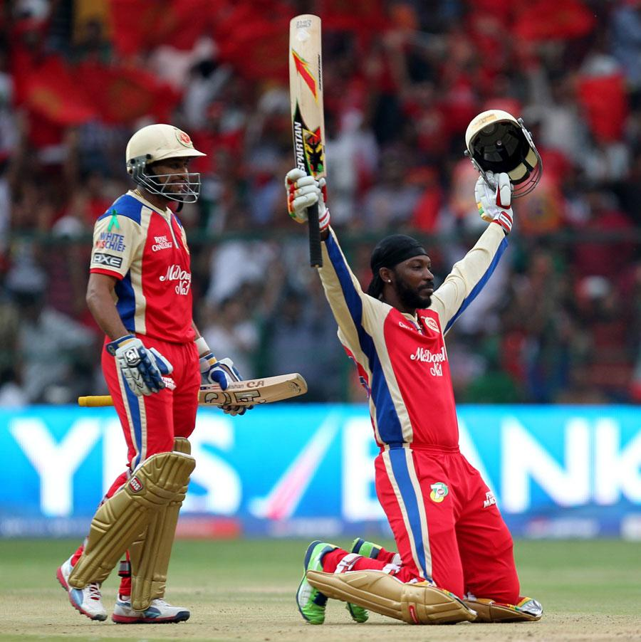 Chris Gayle Pictures – Fastest Century in IPL