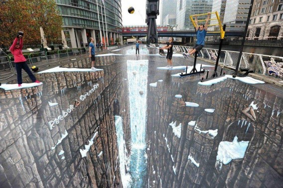 3D painting street