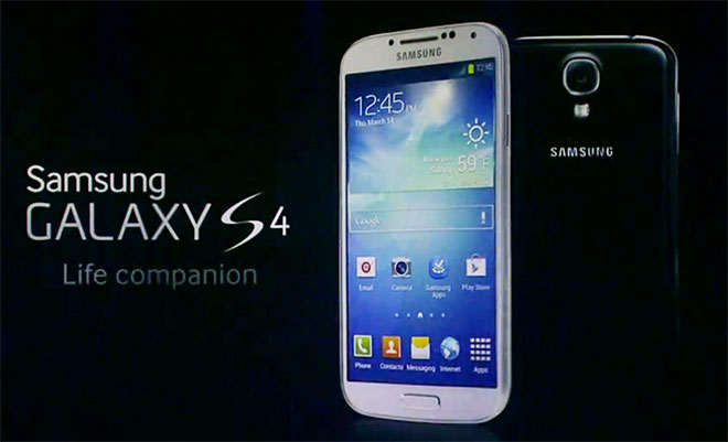 Samsung GALAXY S4: They call it Your Life Companion