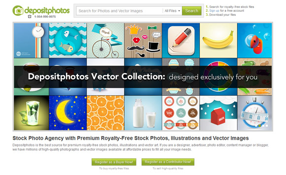 Depositphotos Exclusive Vector Collection Lightbox
