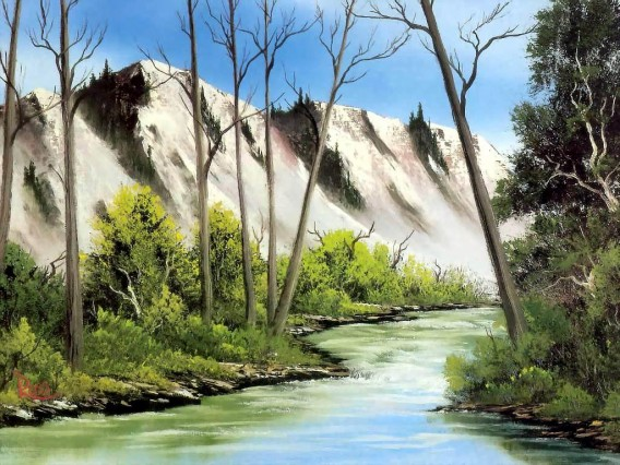 Landscape Painting wallpaper