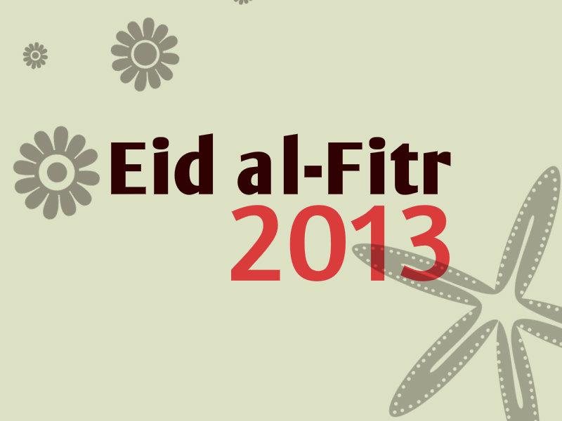Eid ul Fitr 2013 Wallpapers