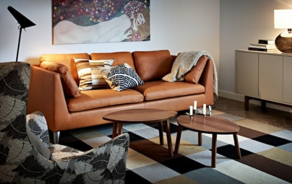 good leather sofa set