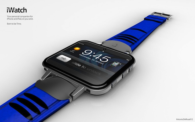 Apple will introduce a hybrid smartphone and watch iWatch