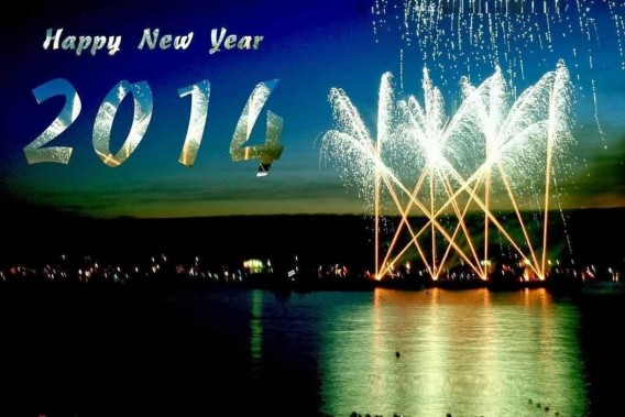Happy New Year 2014 Fireworks Wallpapers - The Wondrous Pics