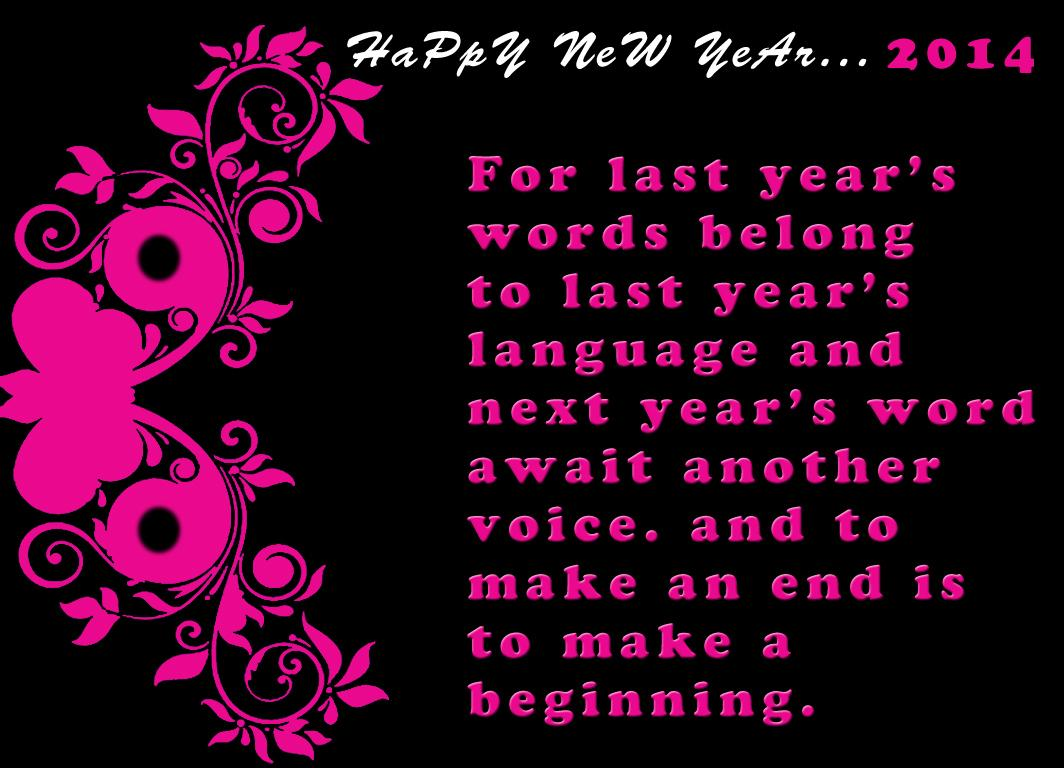 Happy New Year 2014 Wishes
