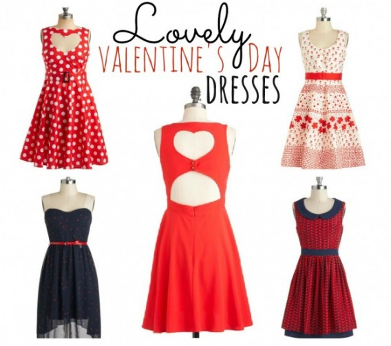 Romantic Valentine's Day Dresses