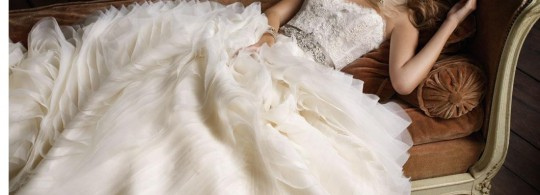 White Elegant Wedding Dresses