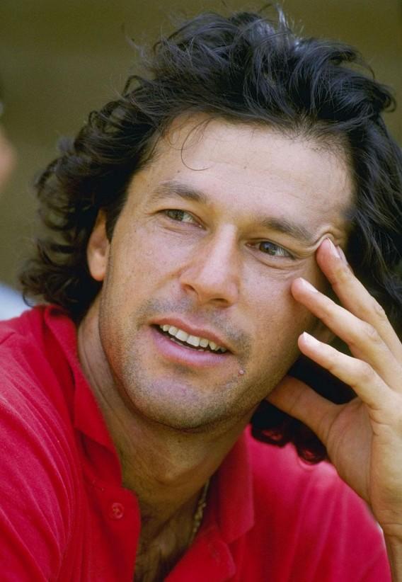 Imran Khan as a...