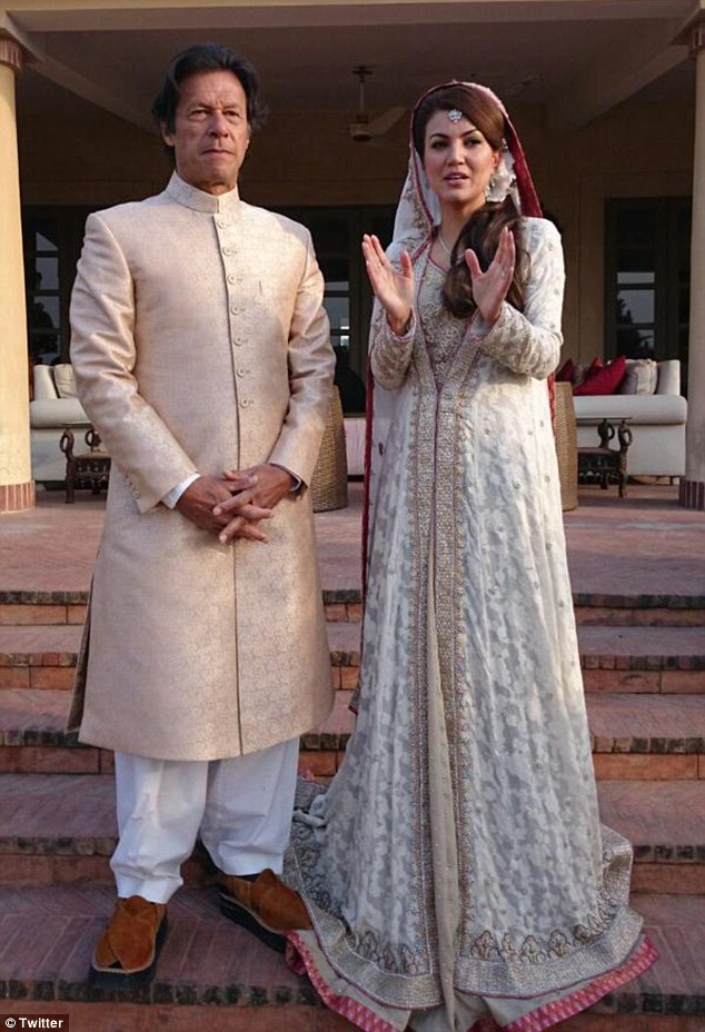 Imran khan married Reham Khan