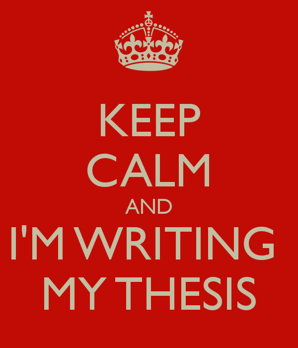 Writers of thesis