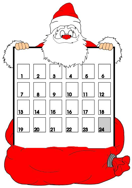 "Christmas Calendar 2015 : Search results for ""christmas print out calendar"