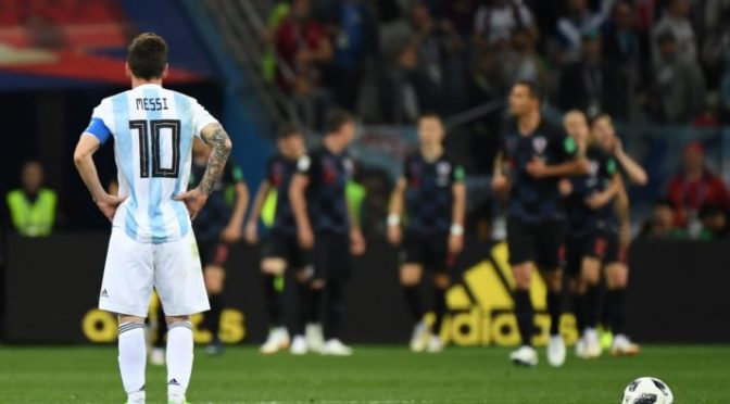 Lionel Messi – Broken man in Fifa World Cup 2018
